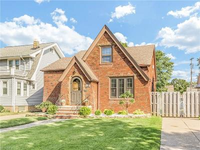 Cleveland OH Single Family Home For Sale: $185,000
