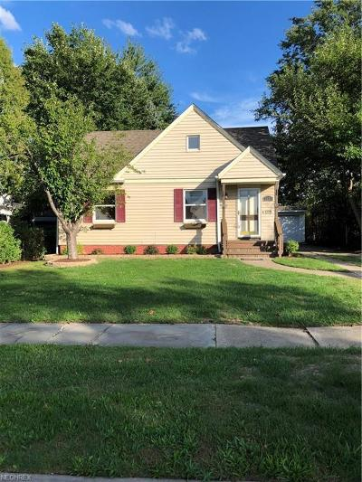 Cleveland OH Single Family Home For Sale: $119,900