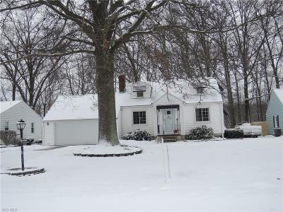 Austintown Single Family Home For Sale: 124 Evans Ave