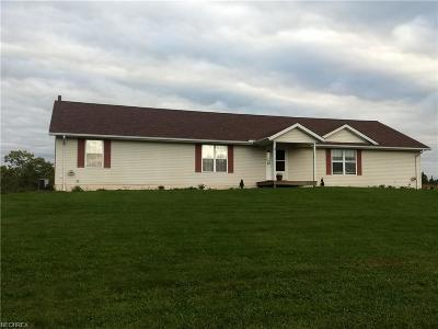 Madison Single Family Home For Sale: 5525 Ledge Rd
