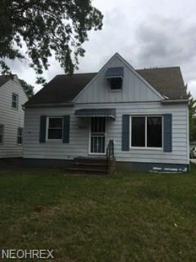 Maple Heights Single Family Home For Sale: 14203 Tabor Ave