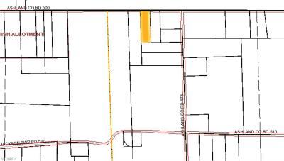 Ashland County Residential Lots & Land For Sale: Co Rd 500