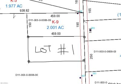 Ashland County Residential Lots & Land For Sale: Co Rd 175