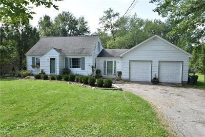 Boardman Single Family Home For Sale: 7734 Hitchcock Rd