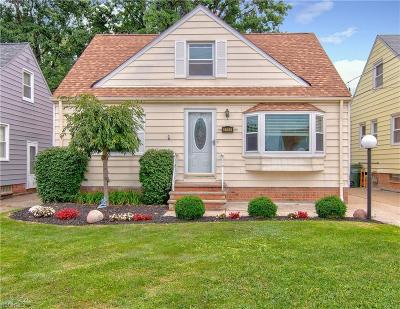 Wickliffe Single Family Home For Sale: 1743 Silver St