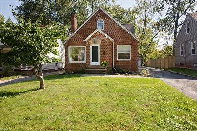 South Euclid Single Family Home For Sale: 1323 Dorsh Rd