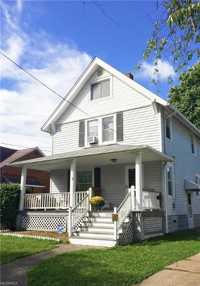 Cleveland OH Single Family Home For Sale: $125,000