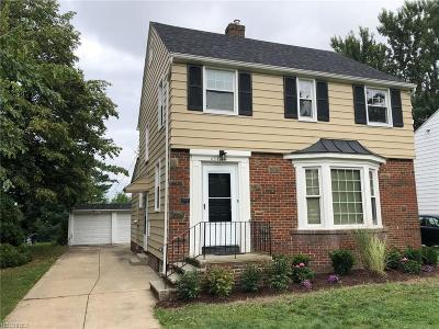 South Euclid Single Family Home For Sale: 4517 Golfway Rd