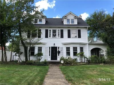 Shaker Heights Single Family Home For Sale: 3376 Dorchester Rd