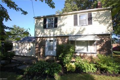 Austintown Single Family Home For Sale: 93 South Raccoon Rd