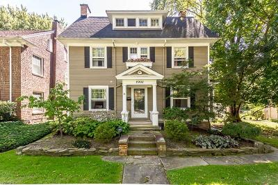 Cleveland Heights Single Family Home For Sale: 2902 Corydon Rd