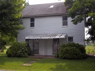 Single Family Home For Sale: 10514 Columbus Rd