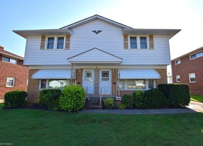 Mayfield Heights Multi Family Home For Sale: 1239 Bonnie Ln