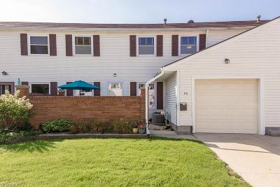 Mentor Condo/Townhouse For Sale: 56 Mansfield Ct