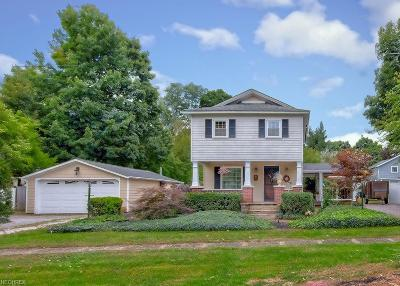 Madison Single Family Home For Sale: 7858 South Ridge Rd