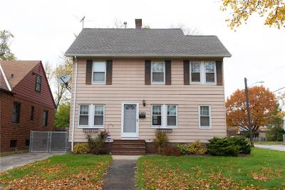 Cleveland OH Single Family Home For Sale: $157,000
