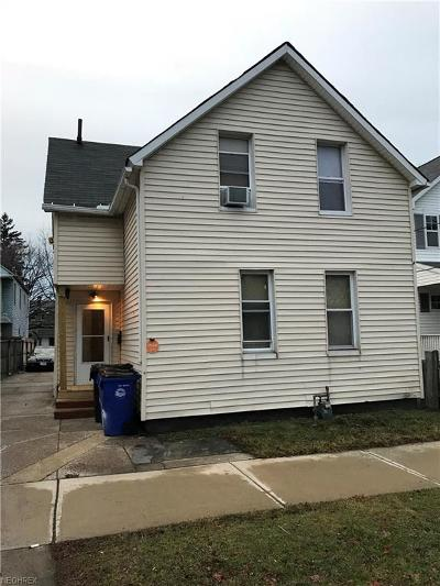 Cleveland Single Family Home For Sale: 7010 Colgate Ave