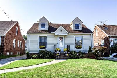 Cleveland Single Family Home For Sale: 11819 Milan Ave