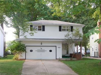 Timberlake Single Family Home For Sale: 78 Shawondassee Dr