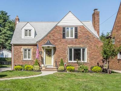 Fairview Park Single Family Home For Sale: 19442 South Sagamore Rd