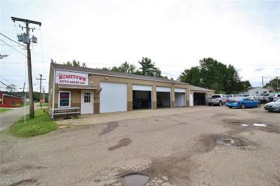 Guernsey County Commercial For Sale: 220 South 2nd St