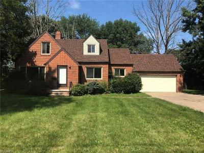 Fairview Park Single Family Home For Sale: 22450 Mastick Rd