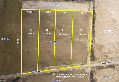 Massillon Residential Lots & Land Active Under Contract: Nave Street