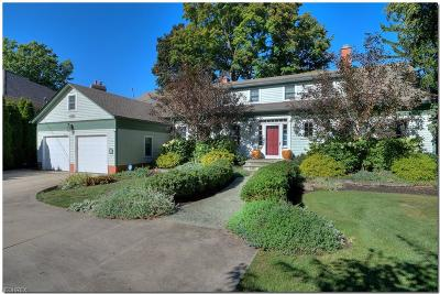 Bay Village, Cleveland, Lakewood, Rocky River, Avon Lake Single Family Home For Sale: 30328 Lake Rd