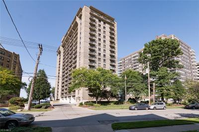 Bay Village, Cleveland, Lakewood, Rocky River, Avon Lake Condo/Townhouse For Sale: 12500 Edgewater Dr #1002