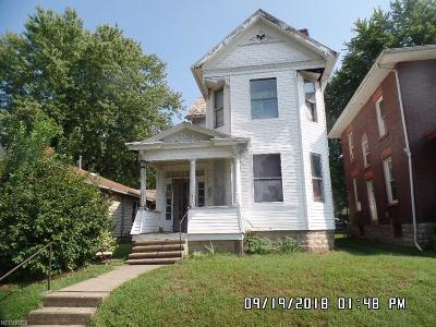 Zanesville OH Single Family Home For Sale: $42,000