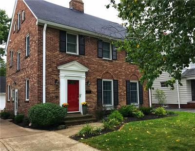 Fairview Park Single Family Home For Sale: 4579 West 213th St