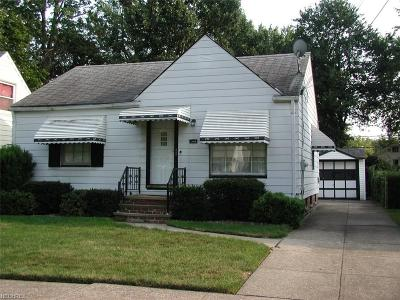 Cleveland Single Family Home For Sale: 3801 Archmere Ave