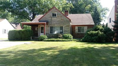 Rocky River Single Family Home For Sale: 21265 Lake Rd