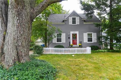 Bay Village, Rocky River Single Family Home For Sale: 323 Bayview Rd