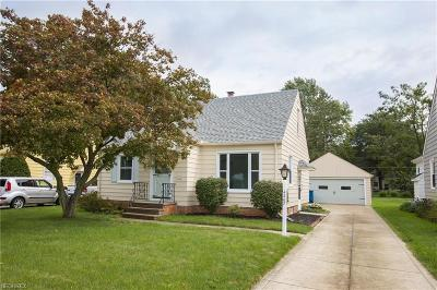 Fairview Park Single Family Home For Sale: 4267 West 226th St