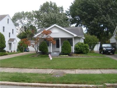 Fairview Park Single Family Home For Sale: 4213 West 219th St