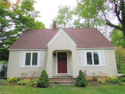 Single Family Home Sold: 1187 Sharon Copley Rd