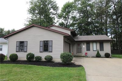 Mentor Single Family Home For Sale: 4814 Farley Dr