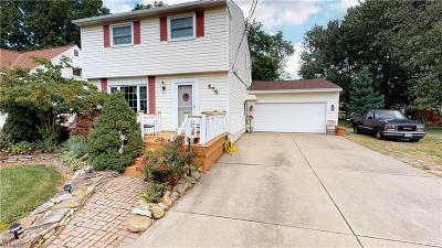 Willowick OH Single Family Home For Sale: $179,900