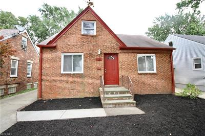 Cleveland Single Family Home For Sale: 4561 West 146th St