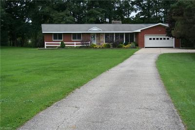 Chardon Single Family Home For Sale: 12380 Old State Road Hwy