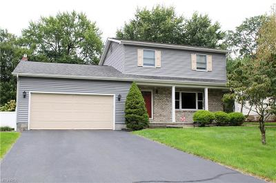 Hubbard OH Single Family Home Sale Pending: $163,900