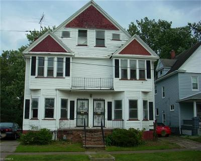Cleveland Multi Family Home For Sale: 3353 East 126th St