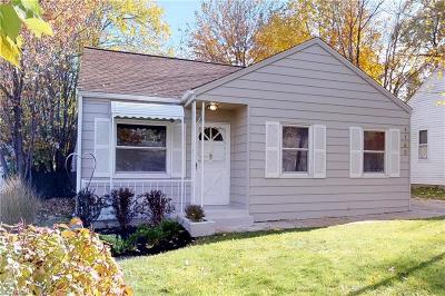 Mayfield Heights Single Family Home For Sale: 1143 Genesee Ave