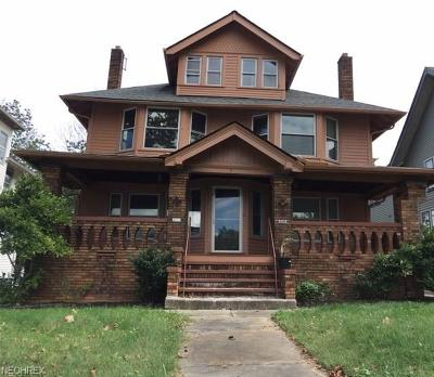 Cleveland Multi Family Home For Sale: 3119 West Blvd