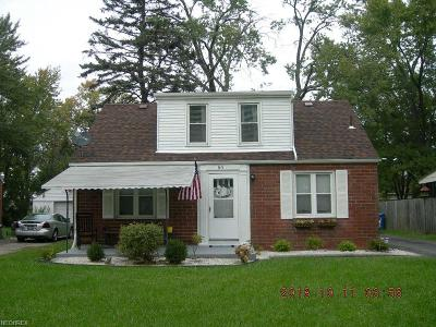 Boardman Single Family Home For Sale: 80 Gertrude Ave
