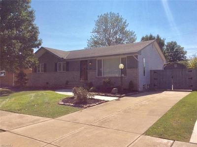 Parma Heights Single Family Home For Sale: 6828 Reid Dr