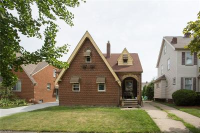 Cleveland OH Single Family Home For Sale: $134,500