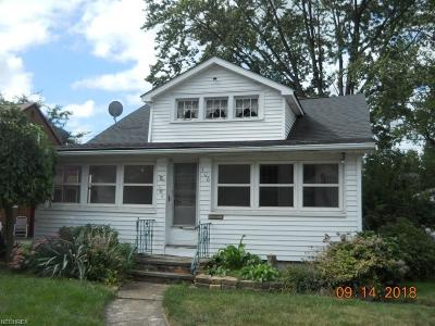 Willowick Single Family Home For Sale: 306 East 285