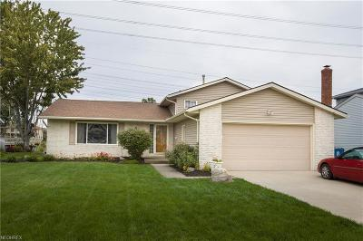 North Olmsted Single Family Home For Sale: 29328 Josephine Dr